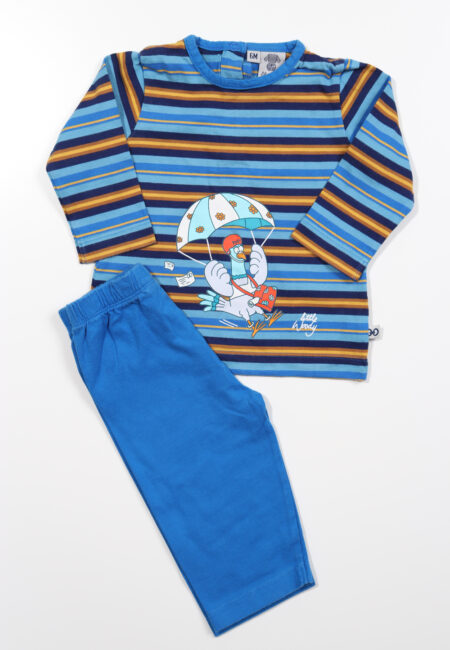 Blauwe pyjama, Little Woody, 68