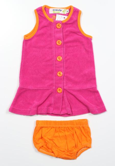 Roos kleedje, Woody Beach, 68