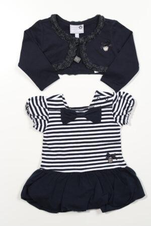 Blauw-wit kleedje, Le Chic, 68