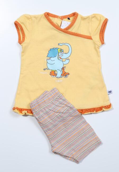 Gele pyjama, Woody, 68
