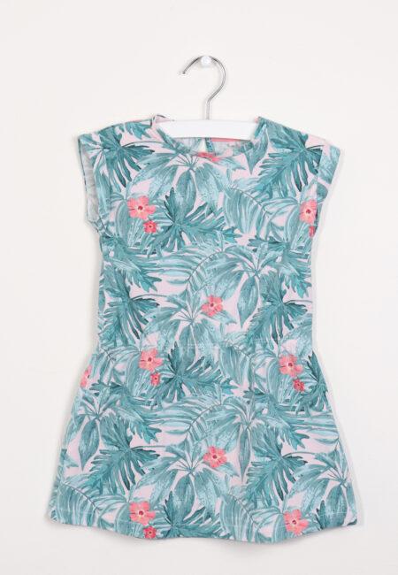 Groen-roos kleedje, Name it, 92