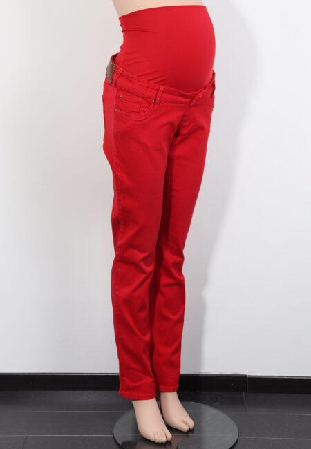 Rode jeansbroek, Queen Mum, L
