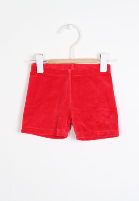 Rood shortje, MM, 62