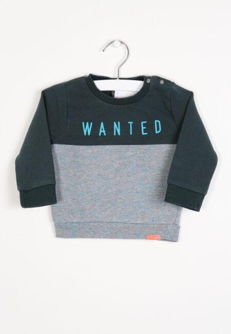 Groen-grijze sweater, Babyface, 68