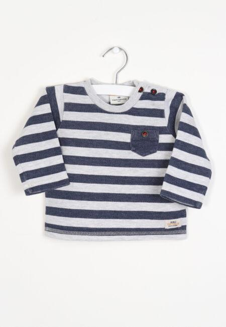 Blauw-grijze sweater, Tom Tailor, 68