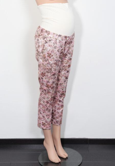 Roos-beige broek, Paulina, S