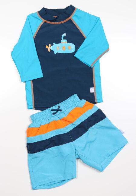 Blauw-oranje zwemsetje, Play, 6-12