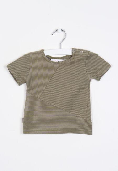 Kakigroen t-shirtje, KidsCase, 62