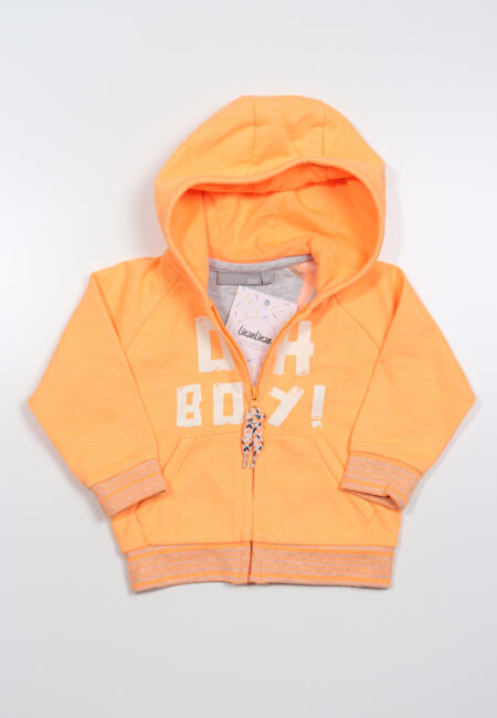 Oranje hoodiegilet, JBC, 68