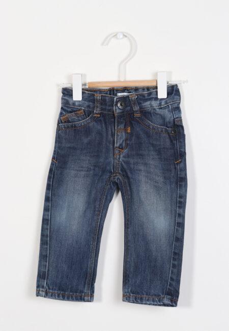 Blauw jeansbroekje, Noppies, 80