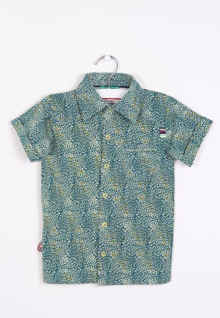 Groen-geel hemdje, 4FF, 98