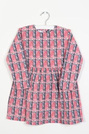 Roos-petrol kleedje, F&F, 104
