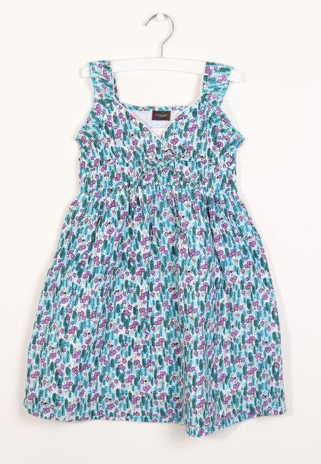 Blauw-paars kleedje, Simple Kids, 104