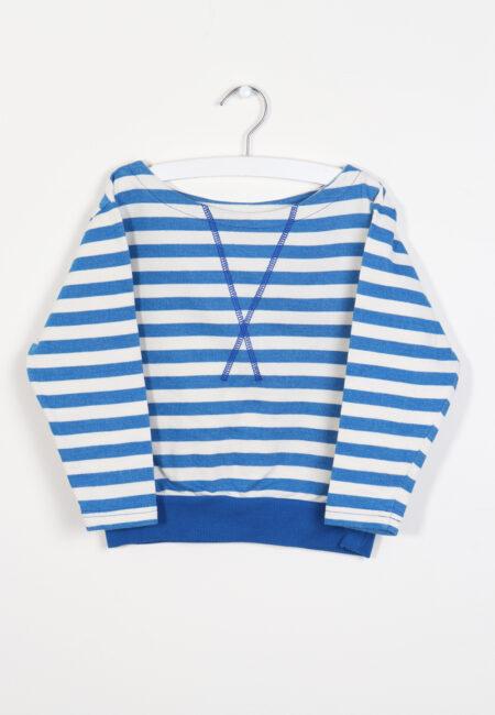 Blauw-witte sweater, AlbaKid, 110