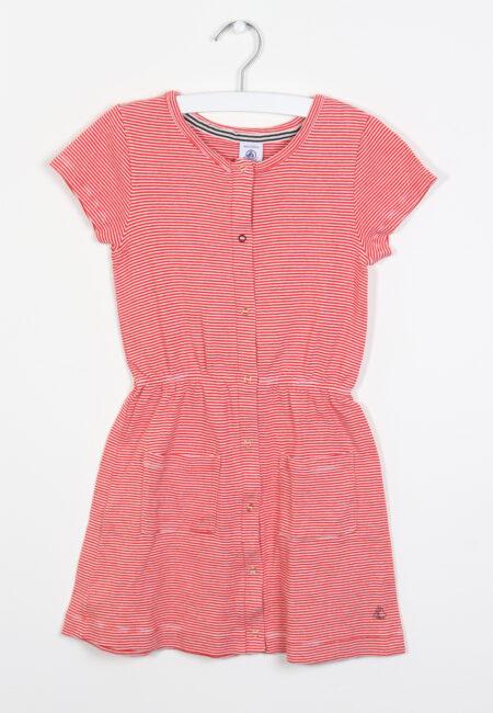 Rood kleedje, Petit Bateau, 116