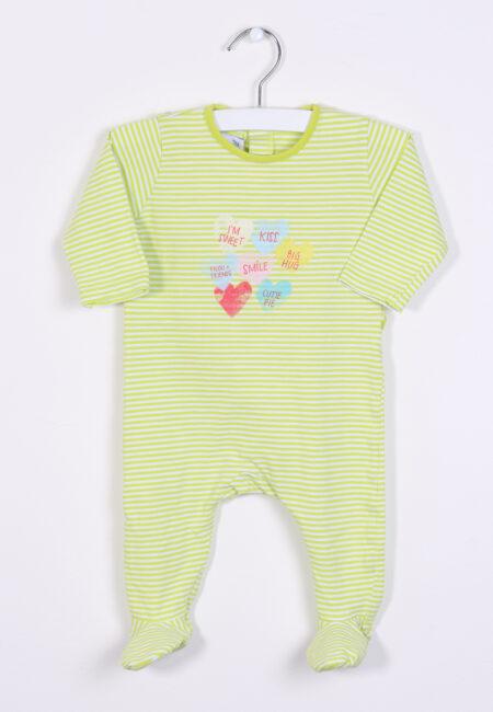 Groen pyjamaatje, P'tit Filou, 62