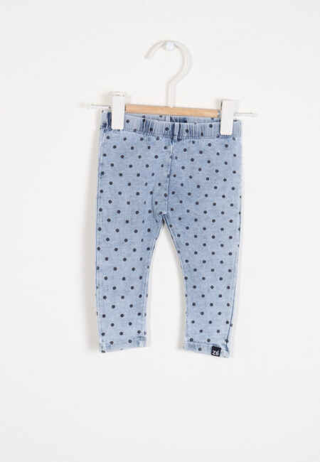 Lichtblauwe legging, Z8, 62