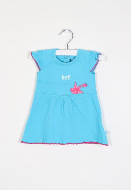 Turquoise kleedje, Lief, 62