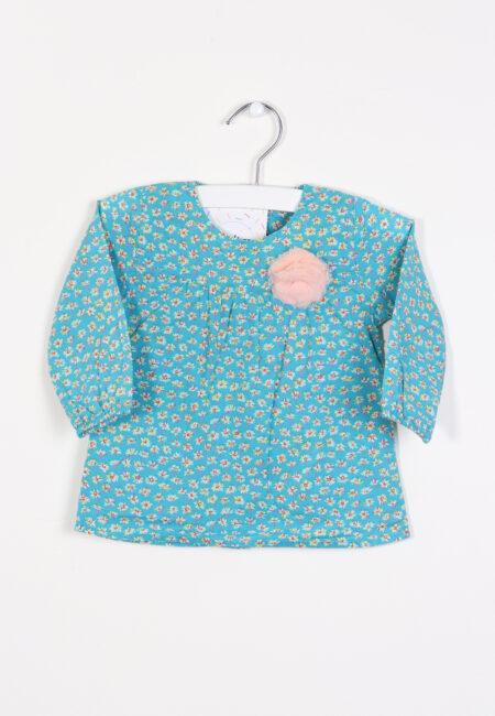 Turquoise kleedje, P'tit Filou, 68