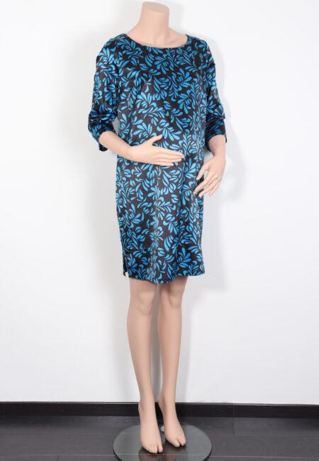 Zwart-blauw kleedje, JBC, L