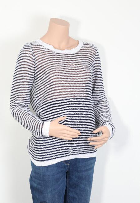 Wit-blauwe trui, Esprit, M