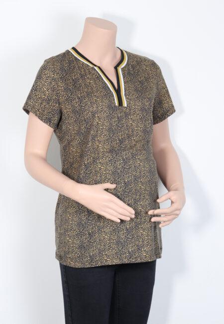 Zwart-oker t-shirtje, L2W, M