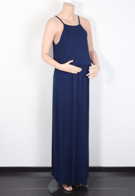 Blauw lang kleedje, GeBe, M