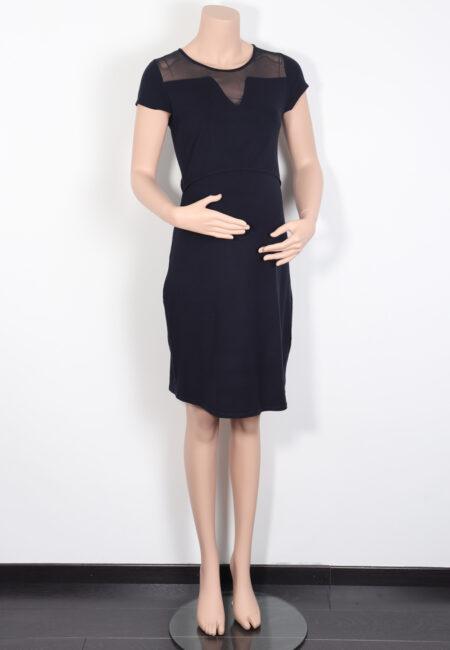Zwart kleedje, Queen Mum, S