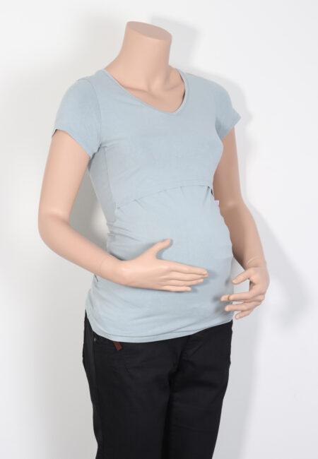 Muntgrijs t-shirtje, Boob, XS