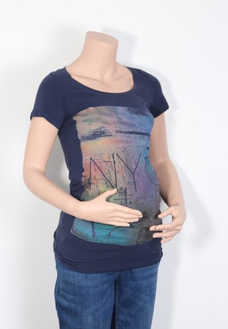 Blauwe t-shirt, Mamalicious, XS