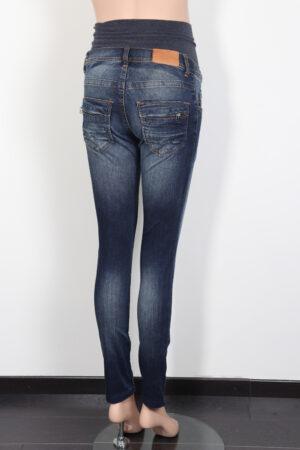 Blauwe jeansbroek, L2W, XS