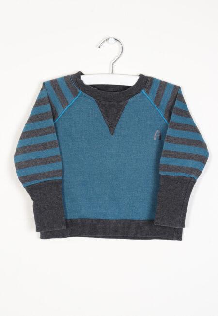 Blauw sweatertje, AlbaBaby, 80