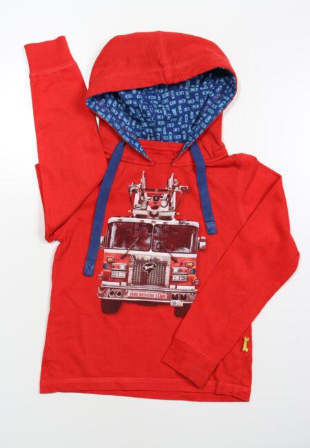 Rode hoodie, S&B, 116