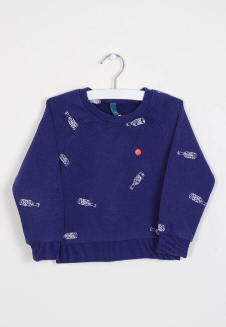 Blauwe sweater, CKS, 86