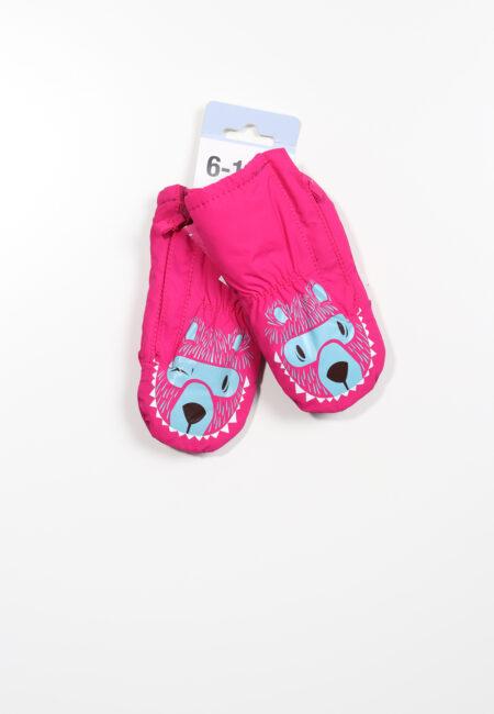 Fuchsia roze handschoenen, Decathlon, 68