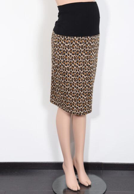 Beige-zwarte rok, Fragile, L