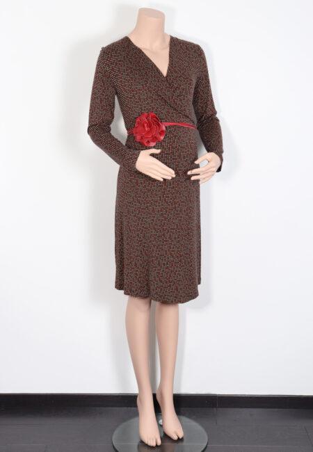 Zwart-rood kleedje, Pdd, M