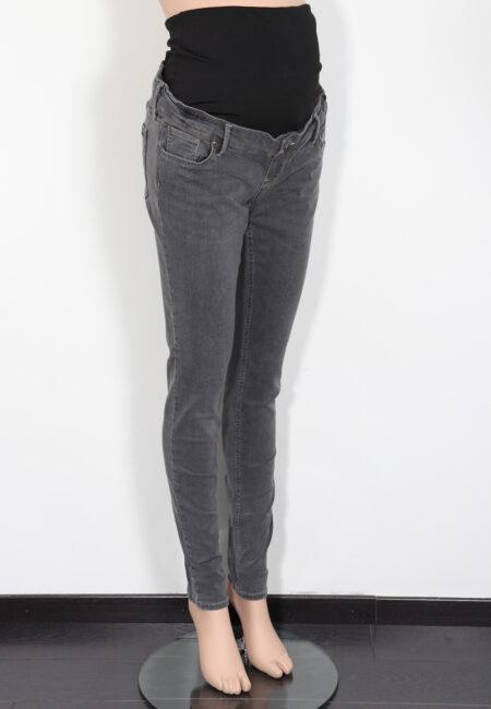 Donkergrijze jeans, Queen Mum, M