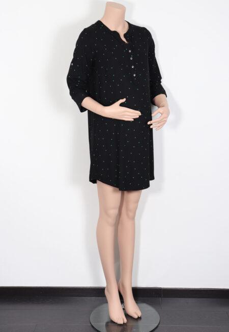 Zwart-groen kleedje, Mamalicious, S