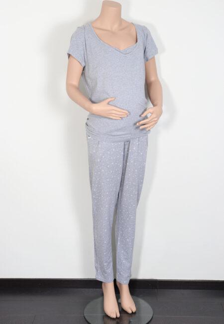 Lichtgrijze pyjama, CC, XL
