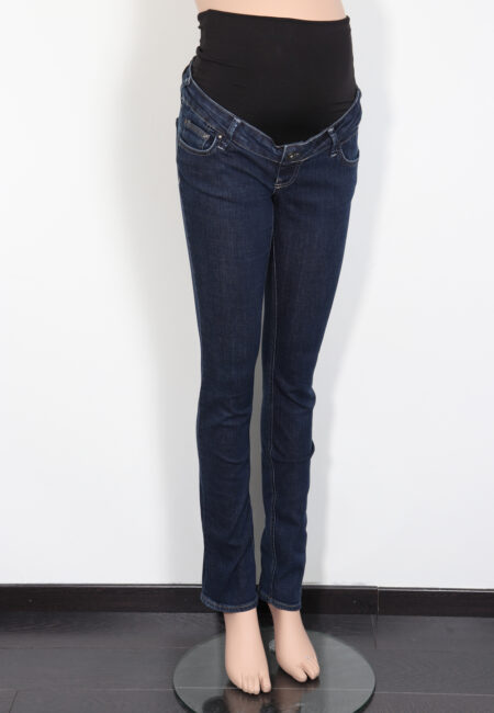 Blauwe jeans, Queen Mum, XS
