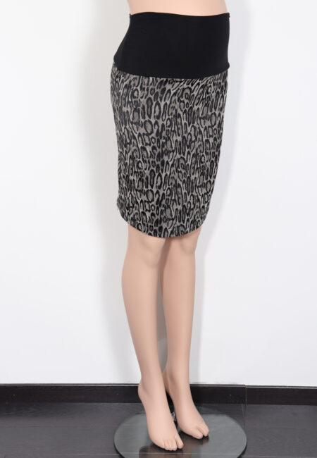 Zwart-grijze rok, Fragile, XS
