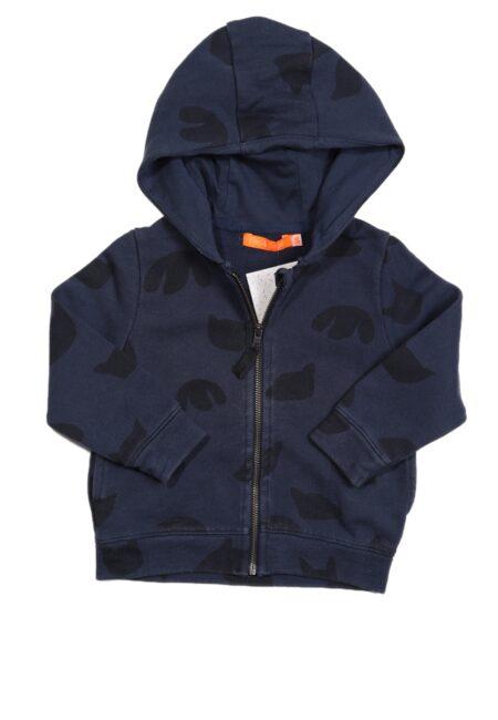 Blauwe hoodie, F&G, 86
