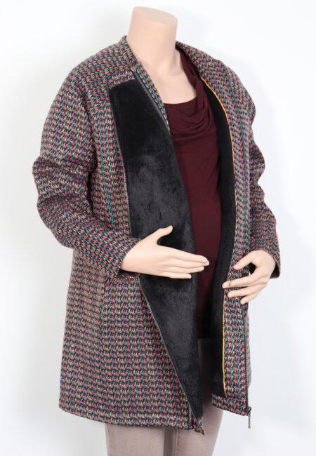 Zwart-gekleurde jas, Pomkin, S