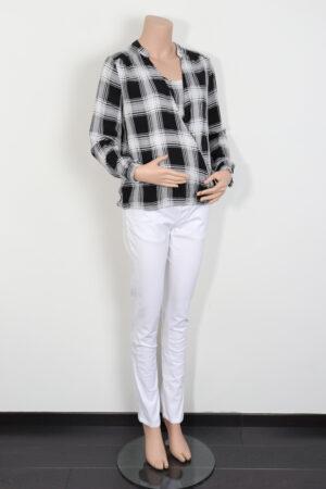 Zwart-wit bloesje, Ripe, S