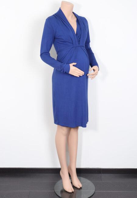 Hoogblauw kleedje, Queen Mum, S
