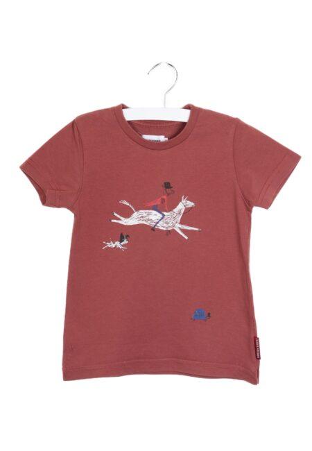 Bruin t-shirtje, F&F, 104
