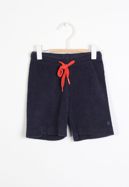 Donkerblauw shortje, Woody, 104