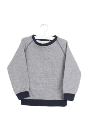 Grijs-blauwe sweater, Name it, 104