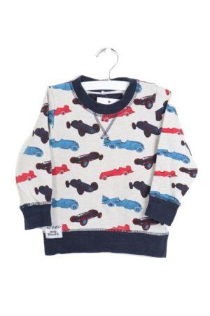 Grijs-blauwe sweater, Name it, 86
